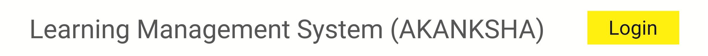 Akanksha - Learning Management System